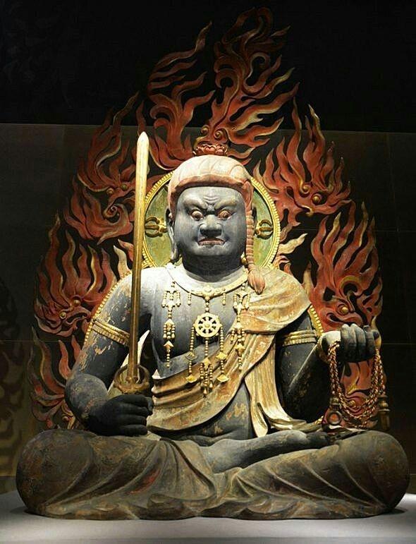 1月28日は初不動(・∀・)明王様を少し学んでちょうだいな♪