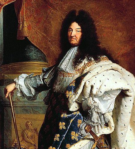 「太陽王」といわれたフランス絶対王政の全盛期の国王。ルイ13世の子孫。