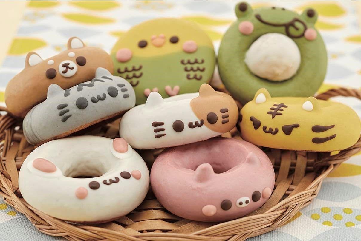 イクミママのどうぶつドーナツ どうぶつドーナツ各種 (1個)310円~390円