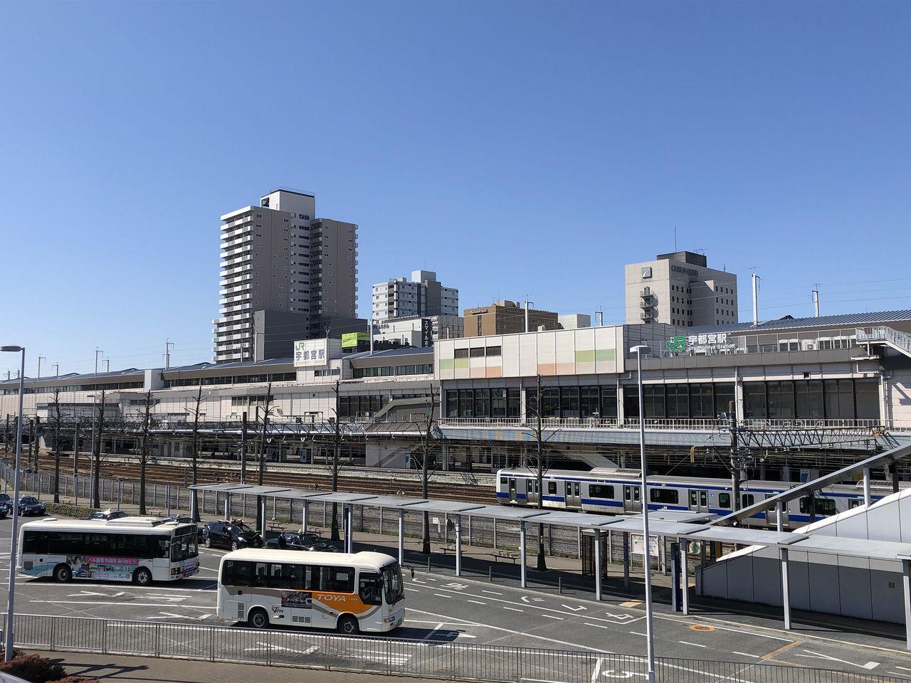 JR宇都宮駅(東口)